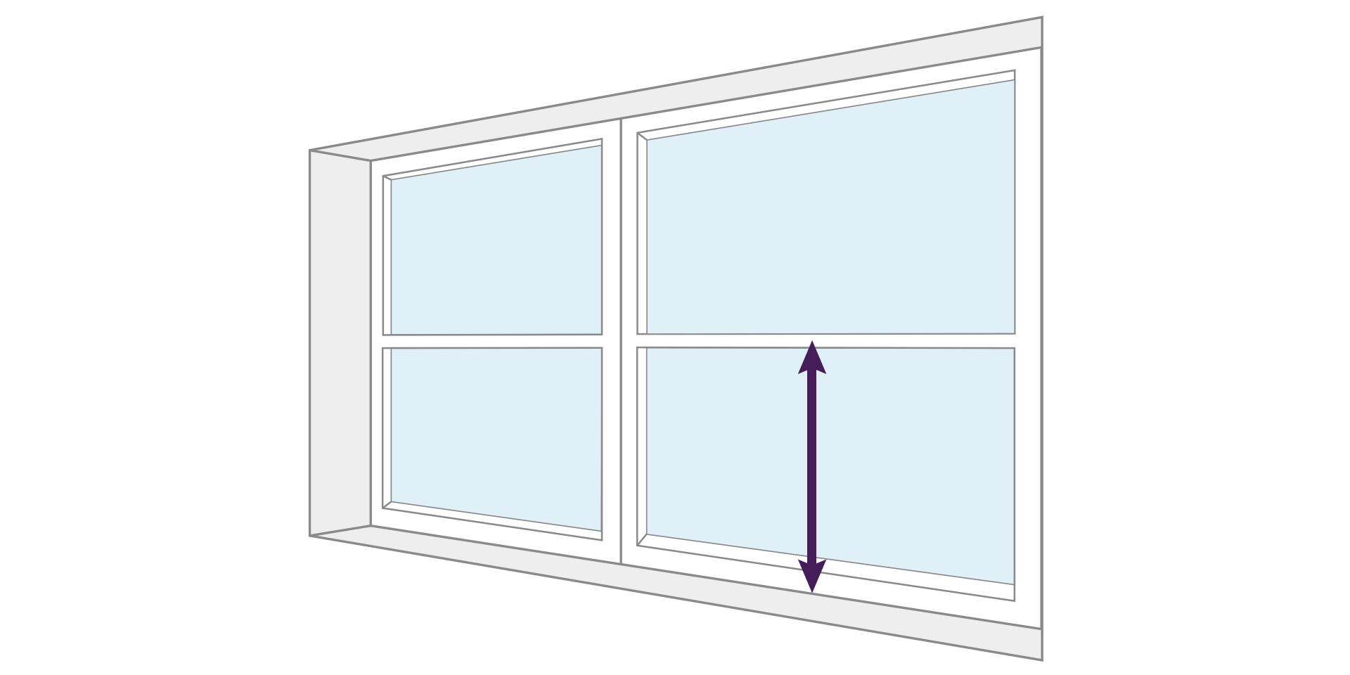 How To Measure A Window For Shutters Shutup Shutters Plantation Shutters Specialist Kent